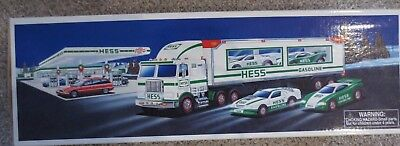 1997 Hess Toy Truck and Racers box only