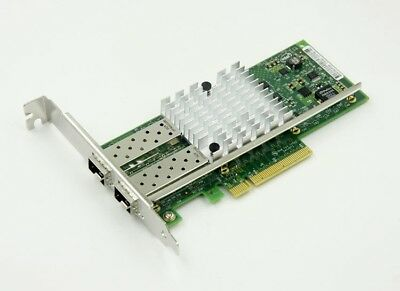 3PCS INTEL X520-DA2 E10G42BTDA 10Gbps Dual Port SFP+ Ethernet Server Adapter