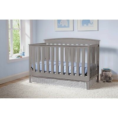 Baby Cribs Convertible 4 In 1 Sleeper Portable Infant Toddler Bed Daybed Full
