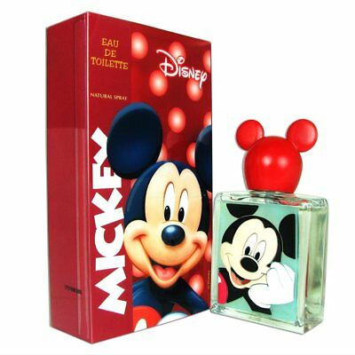 MICKEY MOUSE COLOGNE BY DISNEY EDT SPRAY 1.7 Fl.oz/ 50ml(3-D RUBBER COLLECTABLE)