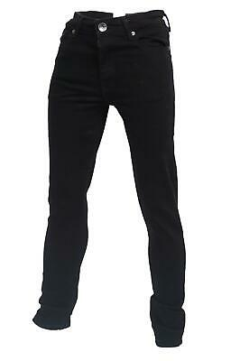 Boys Skinny Stretch Slim Black Jeans Ages 7 to 15 Years