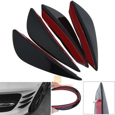 4pcs Universal Car Front Bumper Sticker Guard Cover Protector Styling Decoration