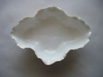 Ntique Ktk China Lotus Ware Bowl Dish American Belleek Knowles Taylor Usa