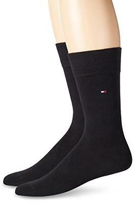 (TG. 47/50) Tommy Hilfiger TH MEN SOCK CLASSIC 2P, Calze Uomo, Nero (200 Black),