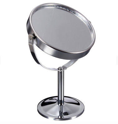 Magnifying Mirror Beauty Cosmetic Makeup Rotatable Portable Double Sided