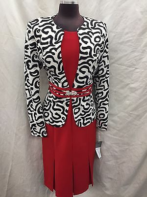 """Tally Taylor Dress Suit/new With Tag/size 18W/lined/retail$149/dress Length 42""""/"""