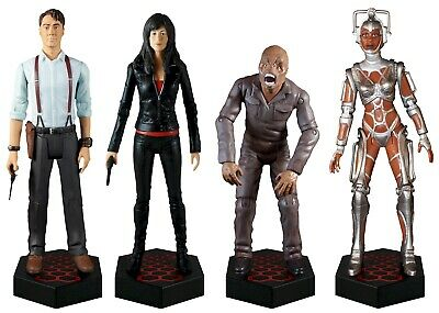 Torchwood Wave 1 Action Figures - Set of 4 - Direct from us, the creators - NEW