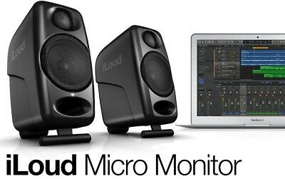IK Multimedia iLoud Micro Monitor (Pair) Ultra Compact Studio Monitors