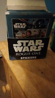 Topps Star Wars Rogue One Stickers 10x SEALED PACKETS PACKS for album