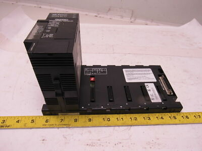 GE Fanuc Series 90-30 5-Slot Base/Rack Chassis w/IC693PWR330B Power Supply