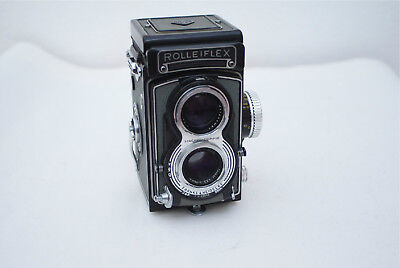 Exc+++/Mint- Rollei Rolleiflex Carl Zeiss 75mm 3.5 Tessar Lens Fully Working 6x6