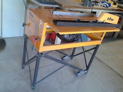 TRITON MK3 WORK CENTRE SAW TABLE PLUS EXTENSION TABLE price reduction