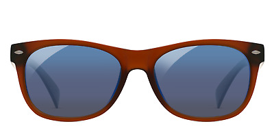 EnChroma Ellis Outdoor Glasses - Color Blind Glasses (Matte Brown)