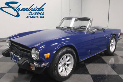1976 Triumph TR-6  HIGH-END RESTORATION, 2.5L I6, 4-SPEED W/ ADDED OVERDRIVE, SHOW OR GO BEAUTY!!
