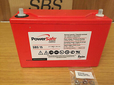 ENERSYS SBS15 Power Safe Battery 12v 14AH EnerSys SBS15 Non Spillable
