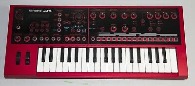 Roland JD-Xi RD 37 Keyboard Analog / Digital Crossover Synthesizer Limited Red