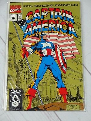Captain America (1968 1st Series) #383 Bagged and Boarded - C1905