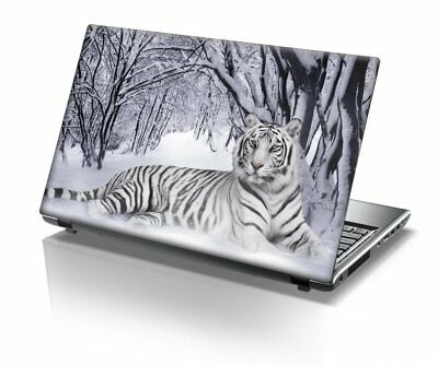 """15.4"""" 15.6"""" LAPTOP SKIN STICKER COVER VINYL DECAL PROTECTION Tiger"""