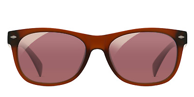 EnChroma Ellis Indoor Glasses - Color Blind Glasses (Matte Brown)