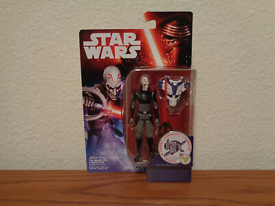"""Star Wars Rebels Sith Inquisitor 3.75"""" Figure Space Mission Force Awakens MOC"""