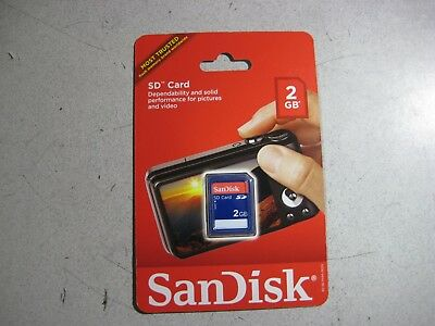 SanDisk 2GB SD Card Free Shipping!!