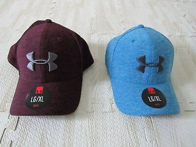 UNDER ARMOUR MENS Twist Tech Stretch Fitted Hat 1273199 Nwt -  24.00 ... d5cdc6502b6