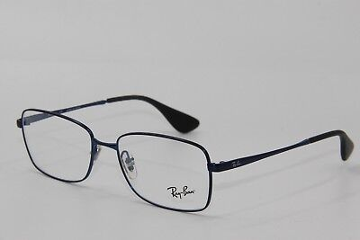 New Ray-Ban Rb 6336M 2510 Blue Authentic Frames Rx Eyeglasses Rb6336M 53-16