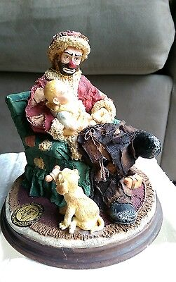 NIB Emmett Kelly, Jr. Collectible BABY'S FIRST CHRISTMAS