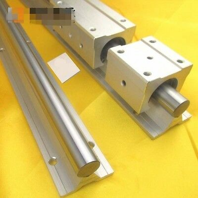 Fully Supported SBR12 Linear Rail Shaft Rod Linear Shaft With Support Dia 12mm