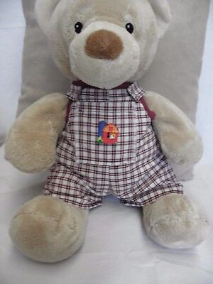 Dungarees to fit 15in Pumpkin Patch teddy  girls/boys clothes build a bear