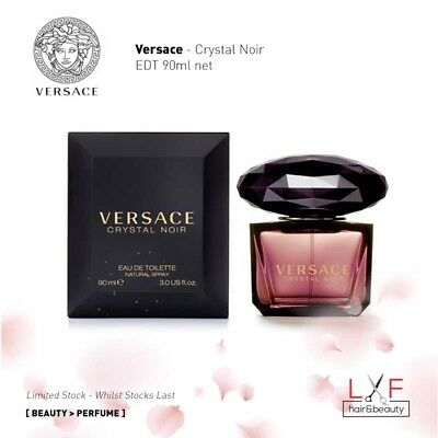 Clearance Sale Authentic Perfume Versace - Crystal Noir EDT 90ml Women Perfume