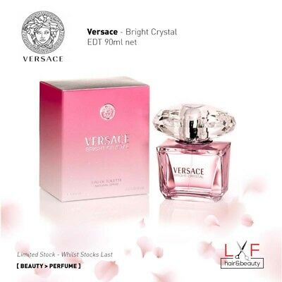 Clearance Sale Authentic Perfume Versace - Bright Crystal EDT 90ml Women Perfume