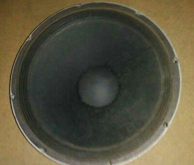 "Electro-Voice EVM-15L 15"" Woofer, OEM Type, Tested & Working Speaker CONE GOOD!"