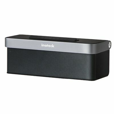 Inateck Wireless Bluetooth Speaker Rechargeable Stereo SD AUX 4000mAH Power Bank