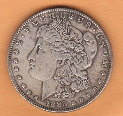 1883s US Morgan Dollar 90% Silver Coins