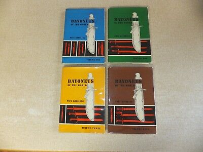 Bayonets of the World - Paul Kiesling, complete 4 editions