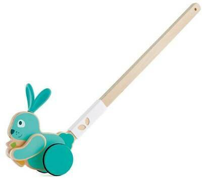 New Hape Bunny Push and Pull Walking Toy Childrens Toy