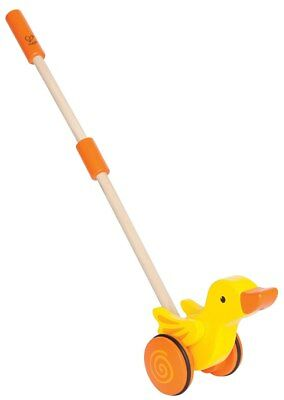 New Hape Duck Push and Pull Walking Toy Childrens Toy