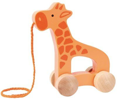 New Hape Push and Pull Giraffe Childrens Toy