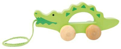 New Hape Push and Pull Crocodile Childrens Toy