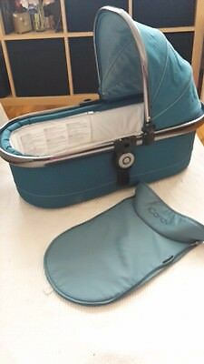 Icandy Peach Peacock Carrycot newest colour