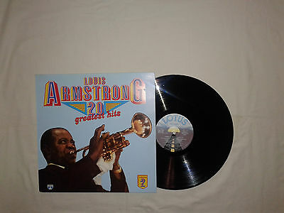 Louis Armstrong-20 Greatest Hits - Volume 2 -Disco 33 Giri LP Compilation Vinile