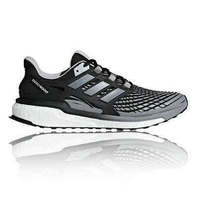 adidas Mens Energy BOOST Running Shoes Trainers Sneakers Black Sports Breathable