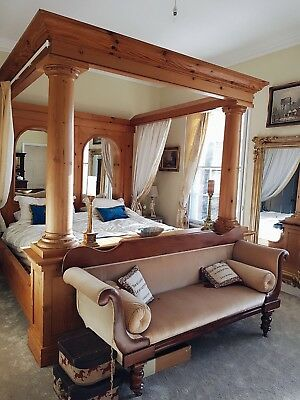 STUNNING Empire 4 Poster Bed!