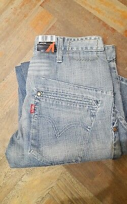 Vintage Levi's engineered jeans denim Made in Belgium W28 L32 from deadstock