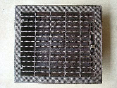 Antique Floor Grate Cast Iron Floor Heat Register & Grate Ornate Rare