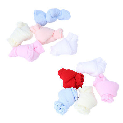 5Pairs Baby Lacework Candy Color Socks For Newborn Infant Toddler Summer Fiber