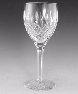 "STUART Crystal - SHAFTESBURY Cut - Water or Wine Glass / Glasses - 8 1/2"" (1st)"