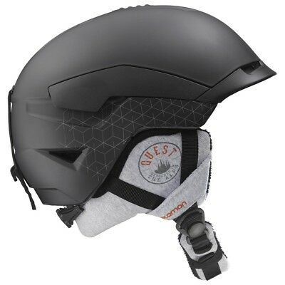 Salomon Quest Access Helmet Mens Black Large NWT