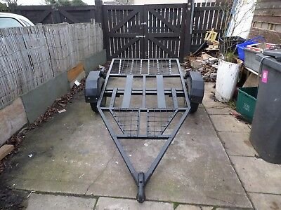 heavy duty trailer suit quad bike mini tractor etc